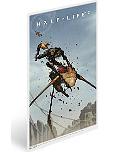 Постер Half-Life 2 Dog Vs. Strider